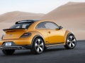 2017 Volkswagen Beetle Dune Rear Right Side