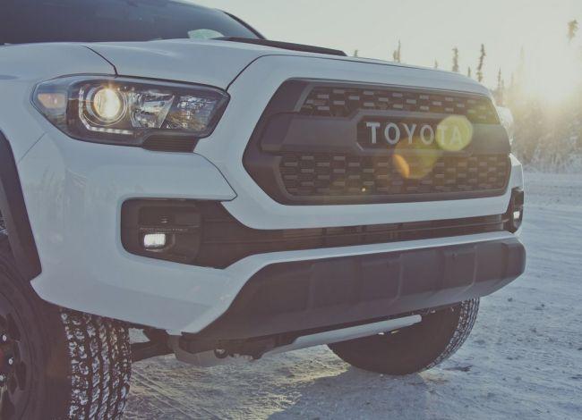 2017 Toyota Tacoma Trd Pro Grill