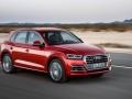 2018 Audi Q5 in motion