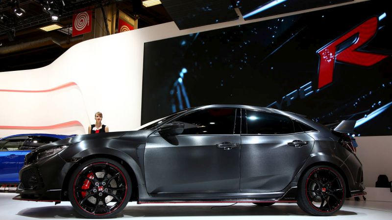 2018 honda civic type r review price interior coupe for Civic type r motor
