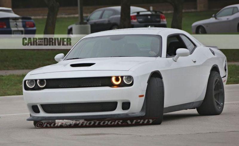 2018 Dodge Challenger Concept Hellcat Adr Demon