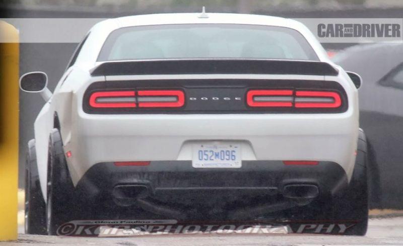 2018 Dodge Challenger Concept, Hellcat, ADR, Demon