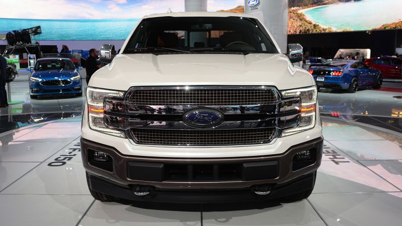 2018 ford f150 release date diesel mpg redesign photos
