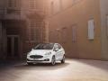 White 2018 Ford Fiesta Exterior