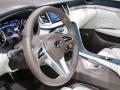 2018 Infiniti QX50 Concept steering wheel