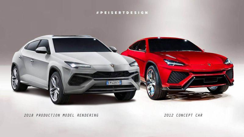 Porsche Cayenne Redesign >> 2018 Lamborghini Urus Release date, Price, Specs, SUV ...