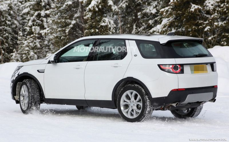 2018 Land Rover Discovery Sport Rear Left Side