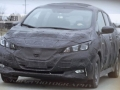 2018 Nissan Leaf hood