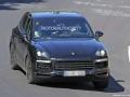 Porsche Cayenne Spy Shots - Close up