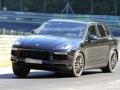 Porsche Cayenne Spy Shots - Handling
