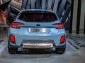rear end of Subaru Crosstrek XV 2018