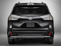 2018 Toyota Sienna black rear end
