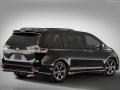 2018 Toyota Sienna black rear right side