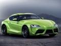 2018 Toyota Supra rendering green