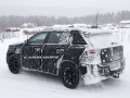 2018 Volvo XC40 snowing