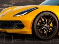 2019 Chevrolet Corvette C8 Rendering hood