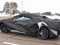 2019 Chevrolet Corvette C8 heavy camo rear left