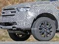 2019 Ford Ranger hood