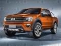2019 Ford Ranger rendering