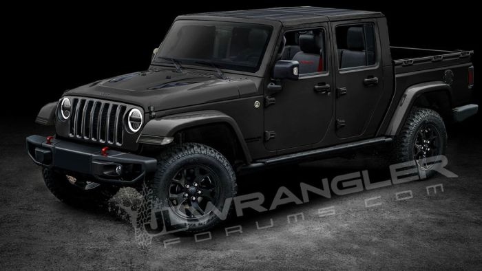 2019 Jeep Wrangler Pickup Price Release Date Truck