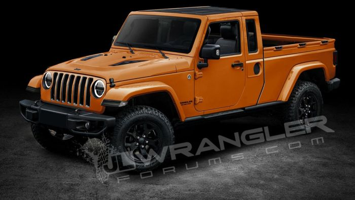 2019 Jeep Wrangler Pickup Price, Release date, Truck