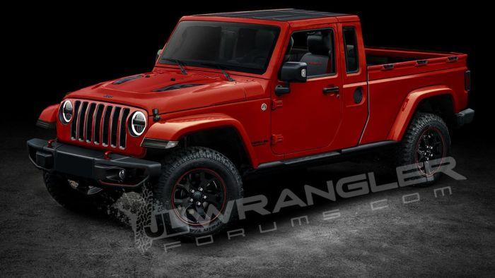 2019 jeep wrangler pickup price release date truck. Black Bedroom Furniture Sets. Home Design Ideas