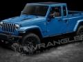 2019 Jeep Wrangler Pickup blue