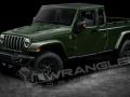 2019 Jeep Wrangler Pickup green