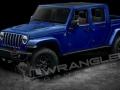 2019 Jeep Wrangler Pickup sea blue