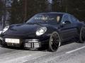 2019 Porsche 911 on the road