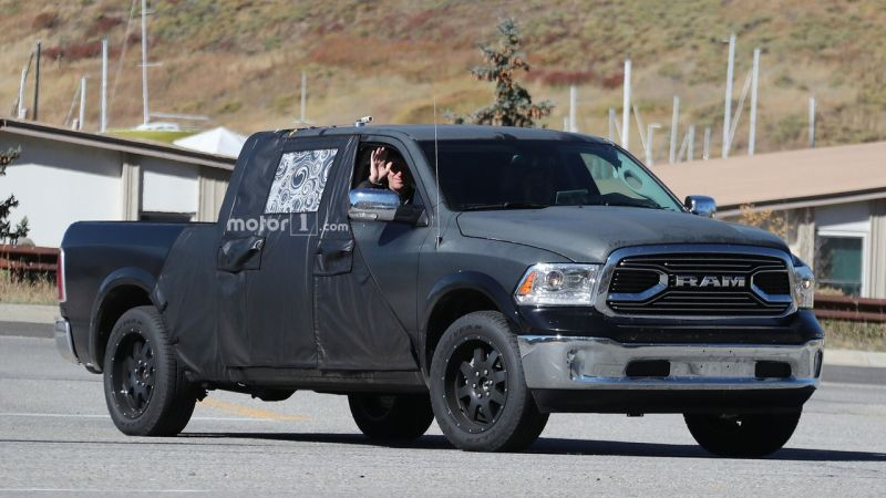 2019 Ram 1500 Redesign Spy Photos Release Date Price