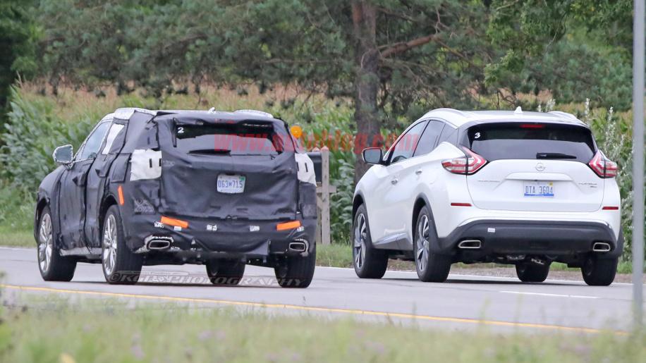 2020 Chevrolet Blazer on the road