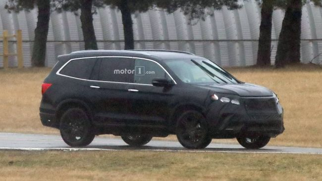 2020 Honda Pilot Spy Photos Price Release Date Changes News