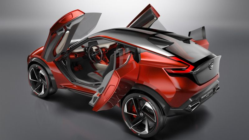 Nissan Gripz Concept Design