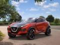 Nissan Gripz Concept posing