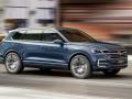 Volkswagen T-Prime GTE Concept in motion