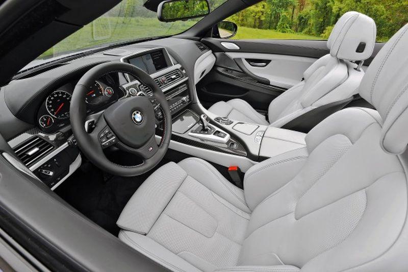 2017 BMW M6 Interior