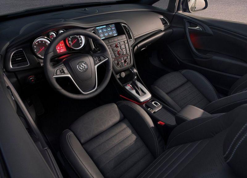 2017 Buick Cascada Dashboard