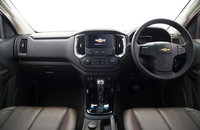 2017 Chevrolet Colorado Diesel Dashboard