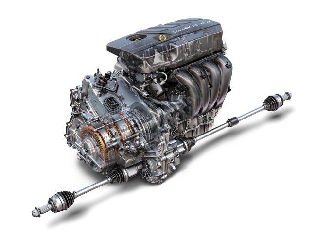 2017 Chevrolet Malibu Engine