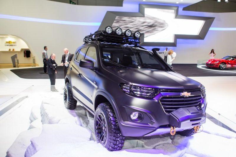 2017 Chevrolet Niva Exterior