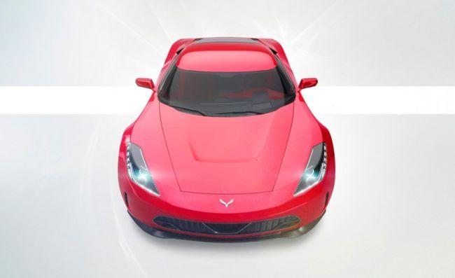 2017 Chevrolet Zora ZR1 Front