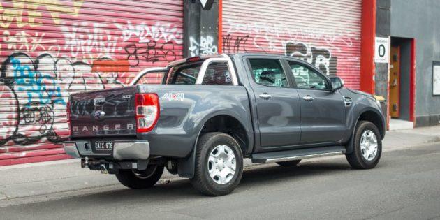 2017 Ford Ranger rear right side 630x315