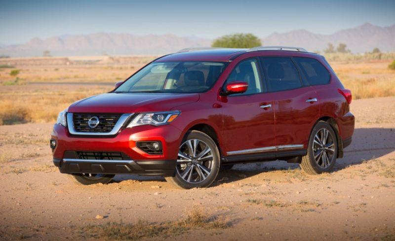 2017 Nissan Pathfinder Exterior