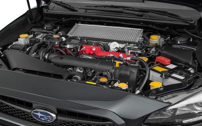 2017 Subaru WRX Engine