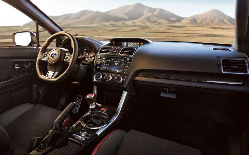 2017 Subaru WRX STI Interior - Source: subaru.com