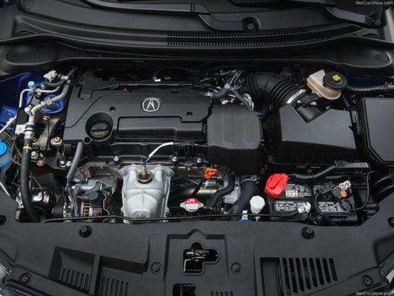 2018 Acura ILX engine 560x420