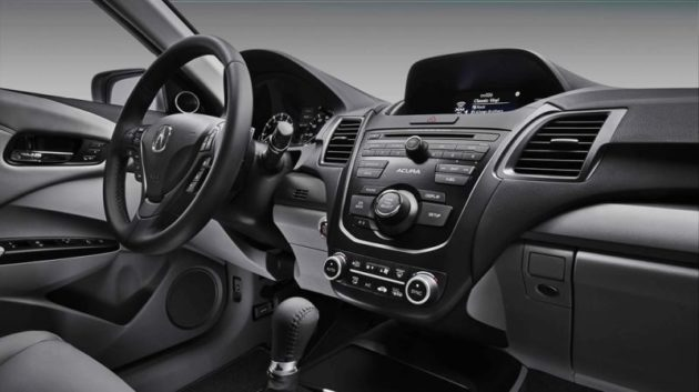 2018 Acura RDX dash 630x353