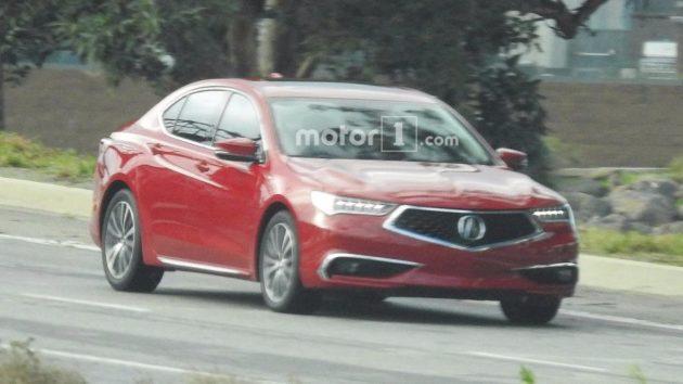 2018 Acura TLX profile 630x354