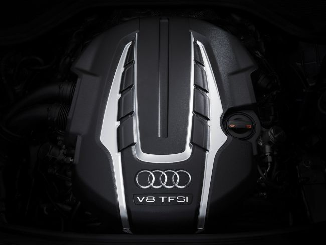 2018 Audi A8 Engine